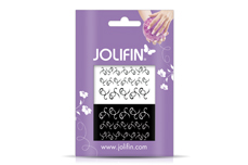 Jolifin Nailart Tattoos black and white Nr. 13