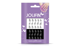 Jolifin Nailart Tattoos black and white Nr. 15