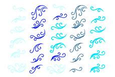Jolifin Jolly Nailart Tattoo 1 blue