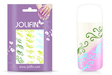 Jolifin Jolly Nailart Tattoo 1 green