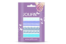 Jolifin Jolly Nailart Tattoo 2 blue