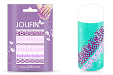 Jolifin Jolly Nailart Tattoo 2 purple