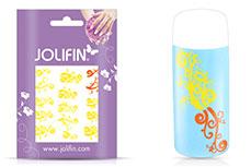 Jolifin Jolly Nailart Tattoo 3 yellow