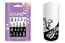 Jolifin Jolly Nailart Tattoo 3 black