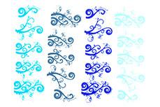 Jolifin Jolly Nailart Tattoo 3 blue