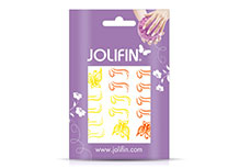 Jolifin Jolly Nailart Tattoo 4 yellow
