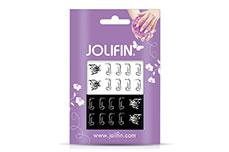 Jolifin Jolly Nailart Tattoo 4 black