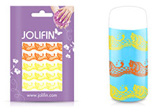 Jolifin Jolly Nailart Tattoo 5 yellow