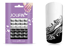 Jolifin Jolly Nailart Tattoo 5 black