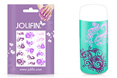Jolifin Jolly Nailart Tattoo 7 purple