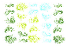 Jolifin Jolly Nailart Tattoo 7 green