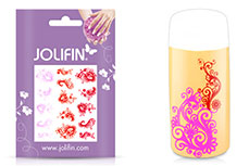 Jolifin Jolly Nailart Tattoo 7 pink