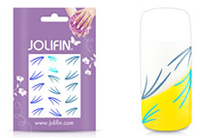 Jolifin Jolly Nailart Tattoo 8 blue