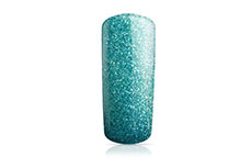 Jolifin Carbon Colors UV-Nagellack türkis Glitter 11ml