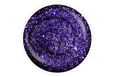 Jolifin Carbon Colors UV-Nagellack purple Glitter 14ml