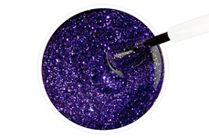 Jolifin Carbon Quick-Farbgel - purple Glitter 14ml
