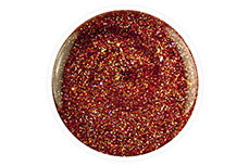 Jolifin Carbon Quick-Farbgel - copper Glitter 11ml