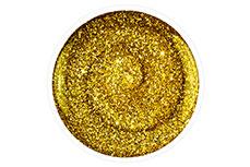 Jolifin Carbon Quick-Farbgel - gold Glitter 11ml