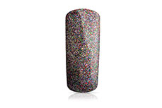 Jolifin Carbon Quick-Farbgel - rainbow Glitter 11ml