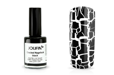 Jolifin Cracked Nagellack black 14ml