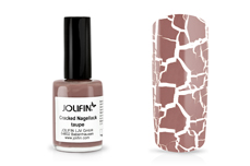 Jolifin Cracked Nagellack taupe 14ml