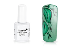 Jolifin Carbon Colors UV-Nagellack silk green 14ml