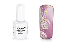 Jolifin Carbon Colors UV-Nagellack silk ros� 11ml