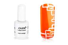Jolifin Carbon Colors UV-Nagellack neon orange 11ml
