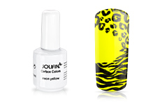 Jolifin Carbon Colors UV-Nagellack neon yellow 11ml