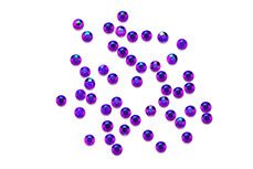 Jolifin Nailart Stones ultradünn dunkel lila irisierend