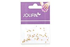 Jolifin Nailart Stones ultradünn orange irisierend