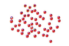 Jolifin Nailart Stones ultradünn rot irisierend