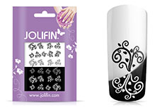 Jolifin Jolly Nailart Tattoo 9 black