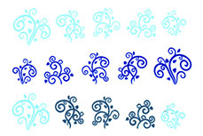 Jolifin Jolly Nailart Tattoo 9 blue