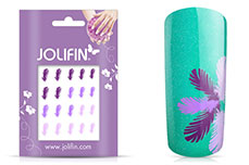 Jolifin Jolly Nailart Tattoo 11 purple