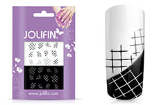 Jolifin Jolly Nailart Tattoo 12 black