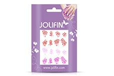 Jolifin Jolly Nailart Tattoo 14 pink