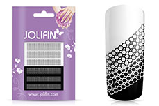 Jolifin Jolly Nailart Tattoo 15 black