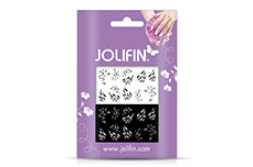 Jolifin Jolly Nailart Tattoo 16 black