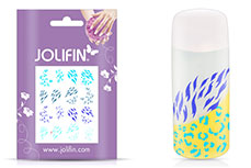 Jolifin Jolly Nailart Tattoo 16 blue