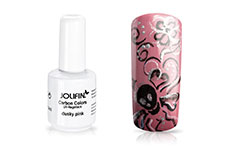 Jolifin Carbon Colors UV-Nagellack dusky pink 11ml