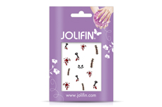 Jolifin Scary Nailart Halloween Tattoo 2