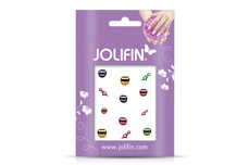 Jolifin Scary Nailart Halloween Tattoo 11