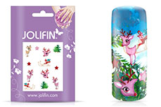 Jolifin Sweet Christmas Nailart Tattoo 1