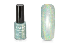 Jolifin Hologramm Nagellack green 5ml