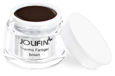 Jolifin Thermo Farbgel 4plus brown 5ml