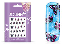 Jolifin Flora Nailart Tattoo 12