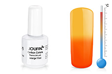Jolifin Carbon Colors Thermo UV-Lack orange 11ml