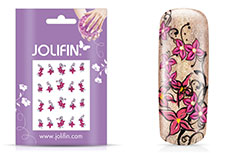 Jolifin intensive Nailart Sticker Folie 4
