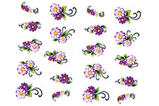 Jolifin intensive Nailart Sticker Folie 7